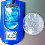 MicroSD失くしたかと思った