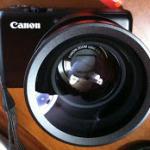 PowerShot S90のワイコン画像