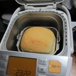 ホームベーカリー購入でパン生活