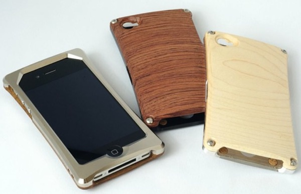 HYBRIDcase for iPhone4 アルミiPhoneケース