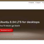 Ubuntu 8.04LTS リリース