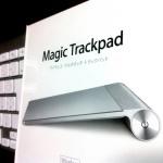 待望のMagic  Trackpadは、使いやすいね