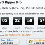 本日限りMacX DVD Ripper Proが無料