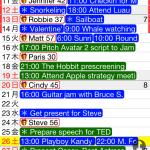 スケジュールリストがシンプルで見やすいMonth Calendar
