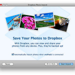 Dropboxベータ版でカメラインポート&容量アップ