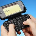 3千円のiPhone4サイズBluetooshキーボード