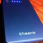 旅行用に大容量モバイルバッテリー「cheero Power Plus」を購入