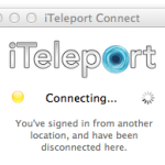 iTeleport Connectがつながらない