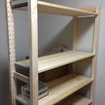 IKEAのコーナーデスクと棚を組み立て