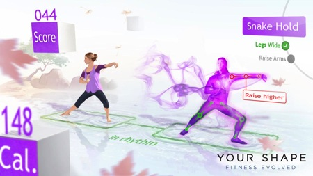 Your shape fitness evolved ubisoft kinect screen e3
