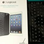 iPad mini retina用にロジクールのウルトラスリムキーボードを買ってみた
