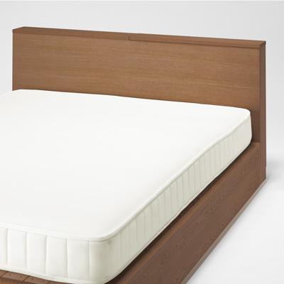 寝室ヘッドボードの作り方(ベッドDIY棚 収納 自作 無印IKEAニトリ イケア …