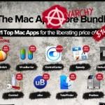 MacHeist Anarchy Bundleで11個のアプリが約$15でお買い得