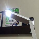 無印良品のLEDスリムデスクライト