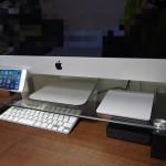 iMac用にモニタスタンドをコストコで購入