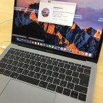 MacBook Proの展示品を見に行ってみたが・・