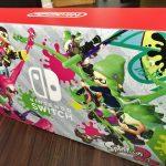 Nintendo Switch スプラトゥーン2セットが届いた