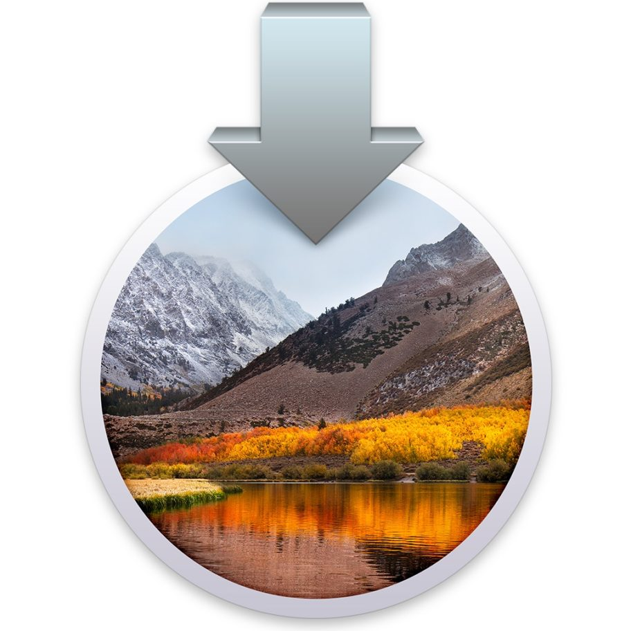 MacOS High Sierra installer icon 912x912